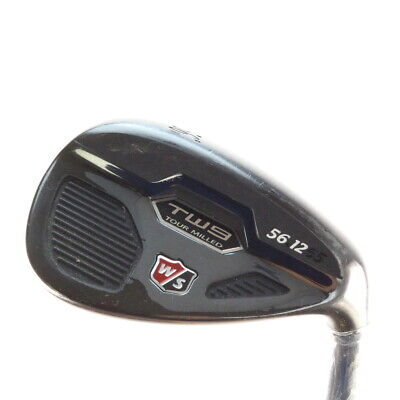 Wilson Staff Tw9 Tour Milled Black Wedge 56 Degrees 56.12 Dynamic Gold 56233D