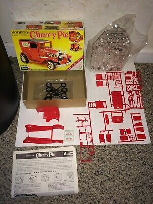 Vintage 70s Mint Boxed Mother's Cherry Pie Ford Model A Panel Sedan Kit,Decals