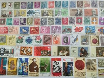 300 Different Germany East/DDR Stamp Collection