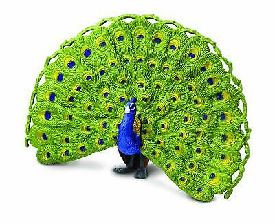PEACOCK by Safari Ltd/toy/bird/vulture/264629/ NEW with tags/