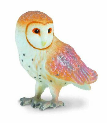 Barn OWL by COLLECTA; toy/replica/bird/owls/88003/ NEW with tag
