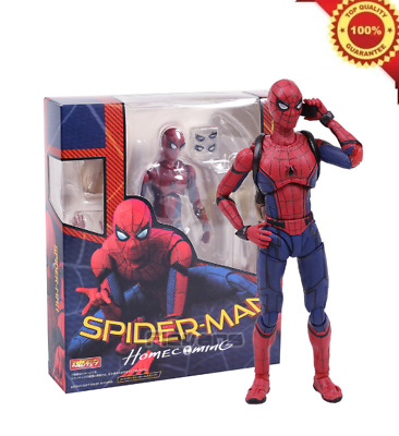"""Bandai Spiderman Homecoming Marvel 6"""" Action Figure SH Figuarts Model Collection"""