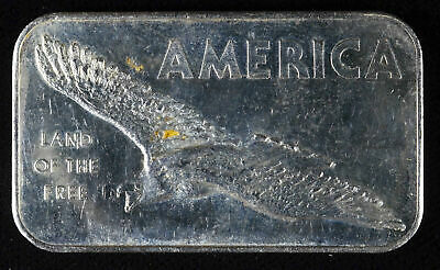 American Argent Mint America Fine Silver Proof Bar .999 1 One troy Ounce Ozt