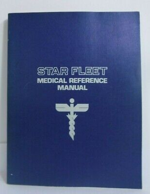 Star Trek: Star Fleet Medical Reference Manual (Paperback) by Eileen Palestine