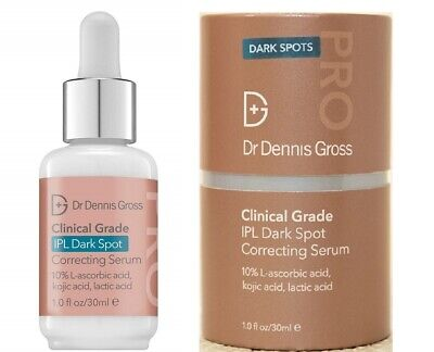 Dr Dennis Gross Clinical Grade Ipl Dark Spot Correcting Serum 1 Oz Full Size Nib