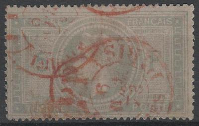 """France Stamp Timbre 33 """" Napoleon Iii 5F """" Cachet Rouge Imprimes Tb A Voir  N973"""