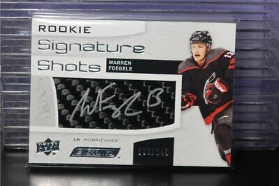 2018-19 UD Engrained Warren Foegele Rookie Signature Shots Auto #002/249 BB