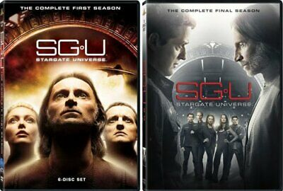 SGU STARGATE UNIVERSE COMPLETE SERIES New DVD Seasons 1 + 2