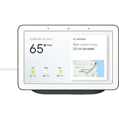 Nest - WNGOGA00515US - Google Assistant Home Hub - Charcoal