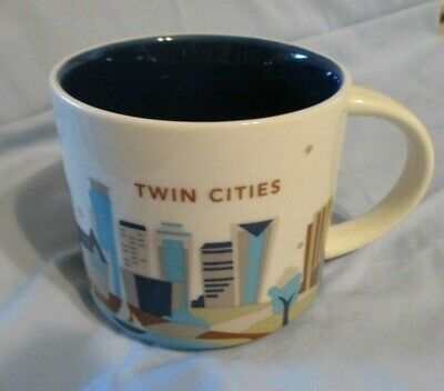 Starbucks Coffee  TWIN CITIES Minnesota Mug 2013 You Are Here Collection 14oz