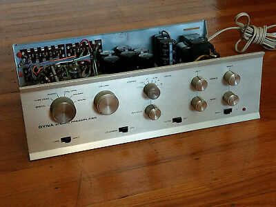 Dynaco PAS-3X Van Alstine Tube Stereo Preamplifier Factory Assembly - Excellent