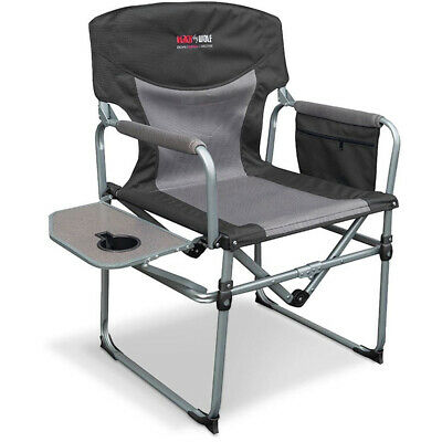 Admirable New Black Wolf Compact Directors Chair Fold Able Outdoor Alphanode Cool Chair Designs And Ideas Alphanodeonline