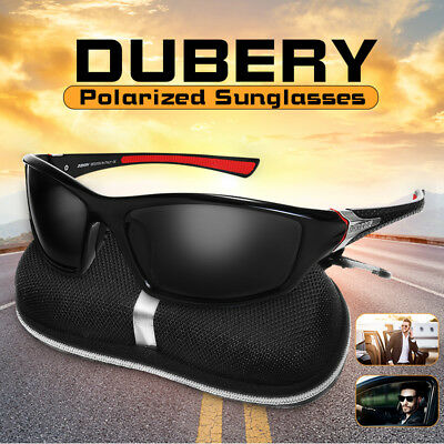 DUBERY Men Women Polarized UV Sunglasses Sport Driving Fishing Cycling Eyewear