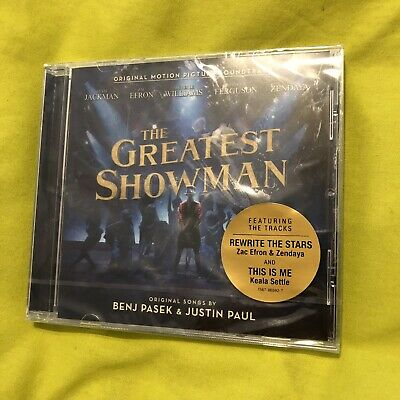 The Greatest Showman 2017 Original Motion Picture Soundtrack CD NEW SEALED 99p