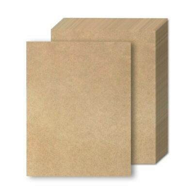 """48x  Letter Sized Stationery Brown Kraft Paper Writing Drawing Printing, 8.5x11"""""""