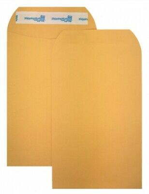 1000 ShippingMailers 6 x 9 Kraft Catalog Envelopes /w Self Adhesive Flap