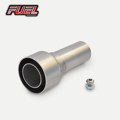 Decibel Killer - 53mm I.D Straight Outlet Exhausts Noise Reducer Race Can Baffle