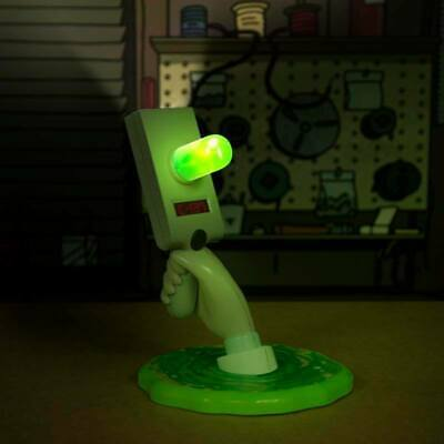 Rick and Morty USB Leuchte Ufo