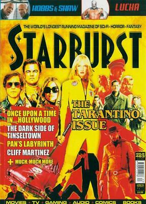 UK Starburst magazine August 2019: QUENTIN TARANTINO ONCE UPON A TIME HOLLYWOOD
