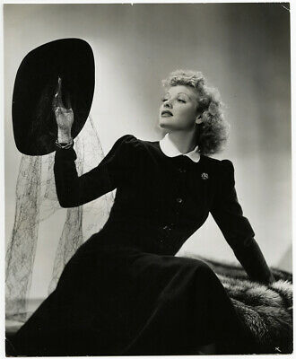 Lucille Ball Vintage 1941 Ernest Bachrach Hollywood Fashions Glamour Photograph
