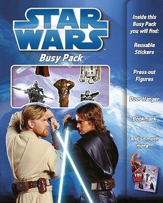 Star Wars Busy Pack Children Fun Activity Stickers Set