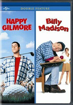 HAPPY GILMORE + BILLY MADISON New Sealed 2 DVD Adam Sandler Double Feature