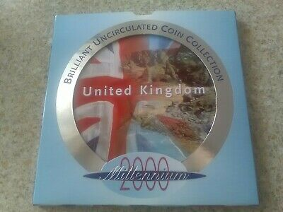 UK 2000 Brilliant Uncirculated 9 Coin Set