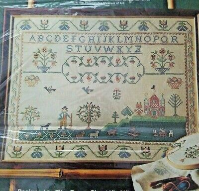 PARAGON NEEDLECRAFT ALPHABET Sampler Stamped Embroidery Kit