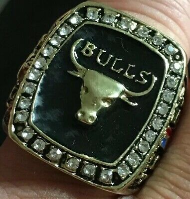 NBA Basketball World Champions 1991 Ring Chicago Bulls Michael Air Jordan Size13