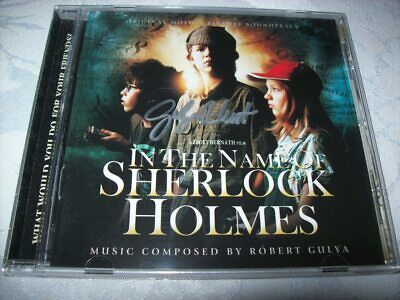 Cd - In The Name Of Sherlock Holmes - Robert Gulya - Autographed - 2012