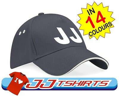 Business Company Name / Text on Custom Personalised Printed Baseball style Cap
