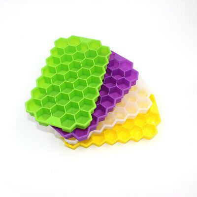 Silicone Honeycomb Shape Jelly Pudding Cakes Chocolate Ice Tray Mold Moulds Cube
