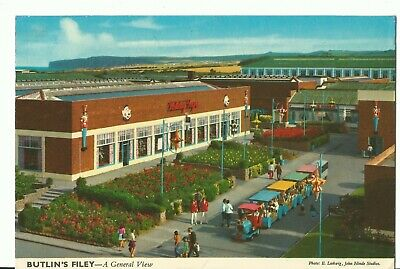 Butlins Holiday Camp Filey A General View John Hinde Ltd 3F58 Pc