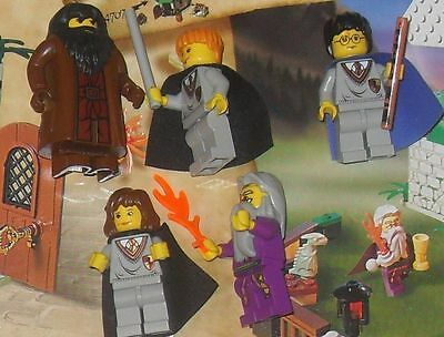 MASSIVE box  loose lego mini figures & playsets  Star wars harry Potter toy lot