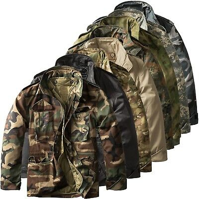 Urbandreamz M65 Field Jacket Giacca Militare Forze Armate US Army Invernale