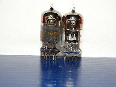 2 x 7199 RCA Tubes *Very Strong Pair*