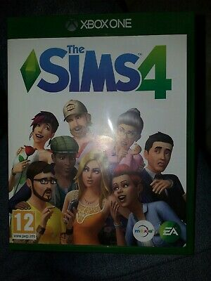 THE SIMS 4 Xbox One Game Mint condition