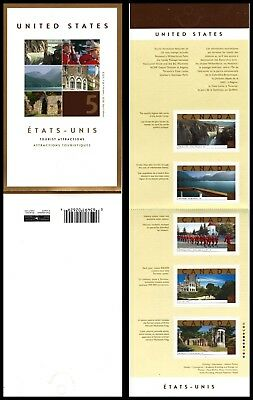 "CANADA 1989 (BK270) - Tourist Attractions ""Complete Booklet"" (pa59225)"