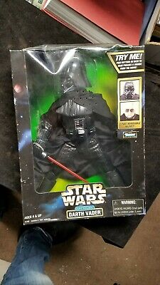 "1998 Kenner Star Wars Electronic Darth Vader 12"" Action Figure NIB"