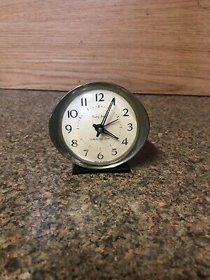Vintage Westclox Black Baby Ben Alarm Clock Model  #11037 Made in the USA Parts