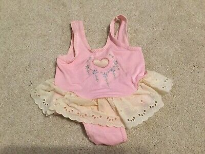 Vintage One Piece Carter's Swim Suit 12 Months Baby Girls Bathing Suit