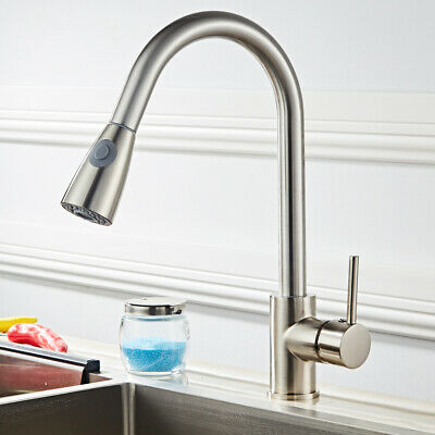 All Copper Sink Faucet Kitchen Faucet Mixing Water Pull Basin Faucet
