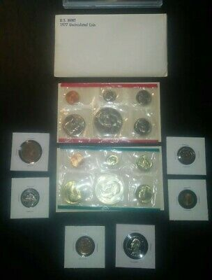 COIN collection LOT Eisenhower Dollar Mint SET proof WHEAT nickel no junk drawer