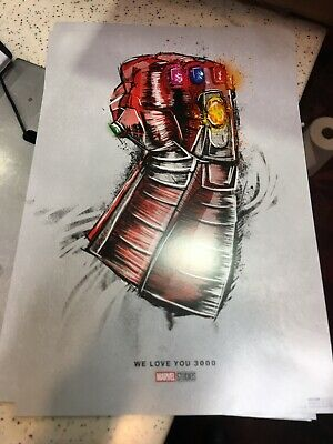 """Avengers: End Game ( 11"""" x 17"""" ) Movie Collector's Re-Release Poster Print"""