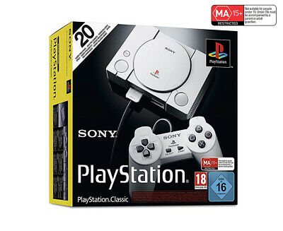 Sony PlayStation Classic Game Console with 20 Pre-installed Games
