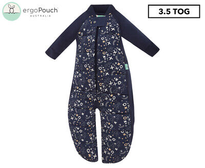 ergoPouch 3.5 Tog Sleep Suit Bag - Blue Southern Cross