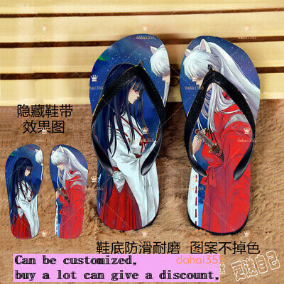 Inuyasha Anime Cosplay Shoes Unisex Canvas Shoes Womens and Mens Sneakers GG