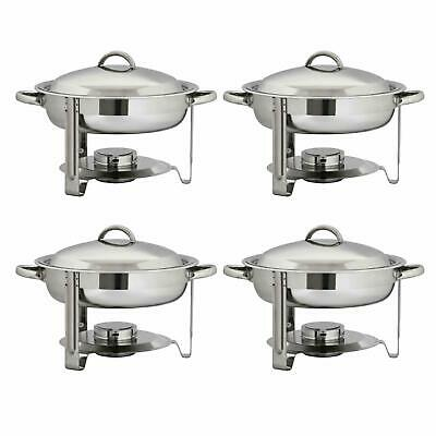 NEW 2 Packs Catering Stainless Steel Chafer Chafing Dish Sets 3.1 QT Party Pack