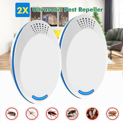 4pc Electronic Ultrasonic Pest Mosquito Reject Cockroach Fly Bug Killer Repeller