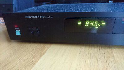 Proton At-200 Tuner - Audiophile Hi-Fi Stereo Am/Fm Tuner